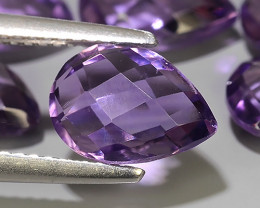 10.70 CTS WONDERFUL NOBLE PURPLE PEAR AMETHYST PARCEL EXCELLENT!!!