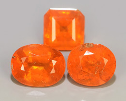 6.30 CTS MARVELOUS RARE NATURAL TOP FANTA-SPESSARITE DAZZLING ~$260.00