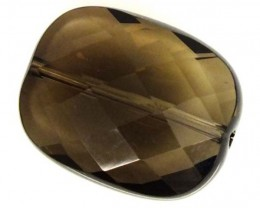 SMOKY QUARTZ FACETED DRILLED 23.20 CTS  NP-1573