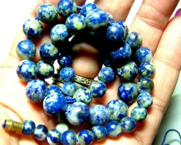 155 CTS LAPIS BEADS DRILLED  NATURAL  NP-