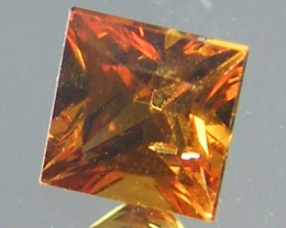 SQUARE FANCY CUT YELLOW COLOUR SAPPHIRE 0.40 CARAT  TW 817
