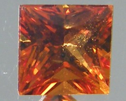 SQUARE FANCY CUT YELLOW COLOUR SAPPHIRE  0.45CARAT  TW 818