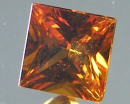 SQUARE FANCY CUT  YELLOW COLOUR SAPPHIRE  0.35CARAT  TW 892