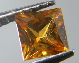 SQUARE FANCY CUT  YELLOW COLOUR SAPPHIRE  0.40CARAT  TW 894