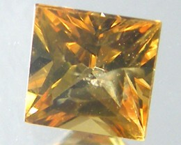 SQUARE FANCY CUT YELLOW COLOUR SAPPHIRE  0.45CARAT  TW 897