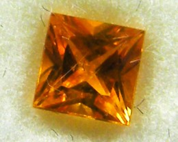 SQUARE FANCY CUT  YELLOW COLOUR SAPPHIRE  0.40CARAT  TW 904