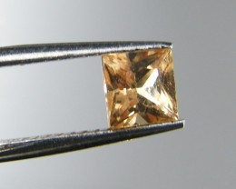 SQUARE FANCY CUT  ORANGE COLOUR SAPPHIRE  0.45CARAT  TW 914