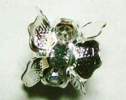 7 CTS NICE DESIGN METAL SPACER WITH RHINESTONE  NP-147
