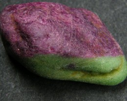 HAND PICKED  RUBY -ZOISITE ROUGH   69.10CTS  GTT341