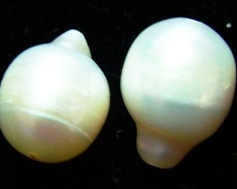 16 CTS NATURAL FRESH WATER PEARL PAIR    NP-213