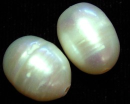 17 CTS NATURAL FRESH WATER PEARL PAIR    NP-223