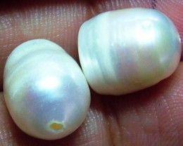 19  CTS NATURAL FRESH WATER PEARL PAIR   AS-227
