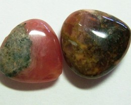 RHODOCHROSITE BEADS 2 PIECES 32CTS NP-254
