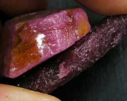 PARCEL HAND PICKED  RUBY  ROUGH SPECIMEN  103CARATS  GTT385