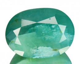 ~RARE~ 9.71 Cts Natural Bluish Green Grandidierite Oval Cut Madagascar