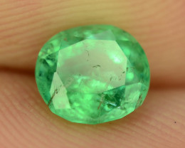 Top Color & Clarity 0.90 ct Panjshir Emerald~Afghanistan ~ K