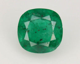 Top Color 1.40 ct Natural Emerald~Swat ~ K