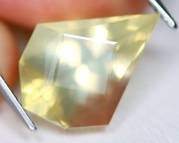 Bytownite 8.53Ct Master Cut Natural Mexican Yellow Bytownite A1811