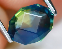 Parti Sapphire 1.04Ct VS Master Cut Natural Australian Parti Sapphire A1813