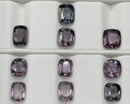 11.09 Carats Natural Spinel Gemstones