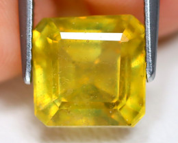 Yellow Sapphire 5.40Ct Square Cut Yellow Color Sapphire C1804