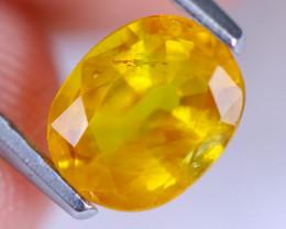 1.26cts Natural Madagascar Yellow Sapphire / MA917