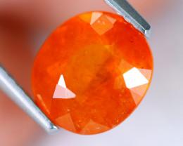 2.84cts Natural Mandarin Spessartite Garnet / MA930