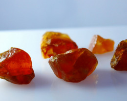 59.70 Cts Natural - Unheated Orange Garnet Rough lot
