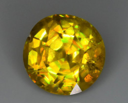 Rare AAA Fire 2.97 ct Sphene Sku-66