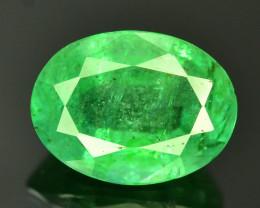 Top Color & Clarity 1.75 ct Emerald~Zambia SJ1