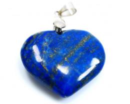 NR!!!! 63.70 Cts Natural - Unheated Blue Lapis Pendant