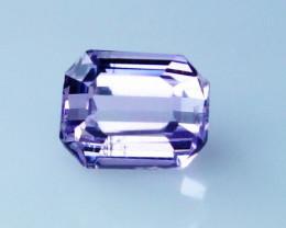 1 Cts Natural - Unheated Pink Kunzite Gemstone