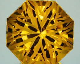 ~CUSTOM CUT~ 8.62 Cts Natural Golden Orange Citrine Fancy Brazil