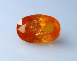 2.85 Cts Natural - Unheated Orange Garnet Gemstone