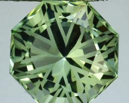 ~CUSTOM CUT~ 5.62 Cts Natural Prasiolite / Amethyst Fancy Cut Brazil