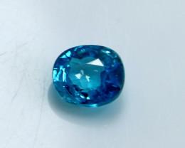 NR!!!! 3.35 CTs Natural Blue Zircon Gemstone