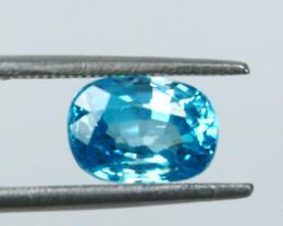 NR!!!! 3.60 CTs Natural Blue Zircon Gemstone
