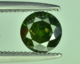 Top Quality 0.55 ct Green Diamond
