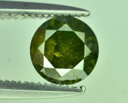 Top Quality 0.75 ct Green Diamond