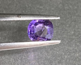 0.5ct unheated purple sapphire