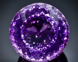 86.03 Crt  Amethyst  Faceted Gemstone (Rk-32)
