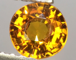 0.60Ct~Excellent Natural Intense Beautiful Orange Yellow Sapphire Excellent