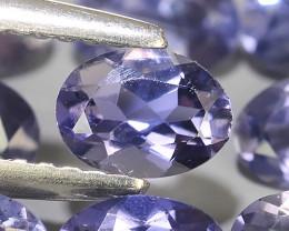 3.15 Cts_Shimmering_Oval Cut_Fine Violetish Blue_Sizzling_Iolite_NR!!