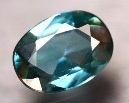 Blue Zircon 2.05Ct Natural Cambodian Blue Zircon E2309/B6