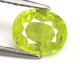Lime Green Chrysoberyl 1.20 Cts Very Rare Natural Gemstone