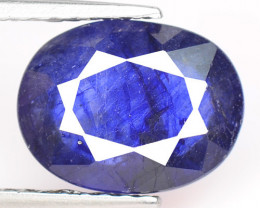 Blue Ceylon 2.56 Cts Amazing Rare Natural Fancy Sapphire Loose Gemstone