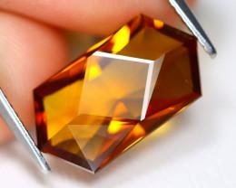 Madeira Citrine 4.88Ct VVS Master Cut Natural Orange Citrine A1905