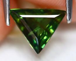 Sapphire 1.51Ct Trillion Cut Natural Australian Mermaid Sapphire A1910