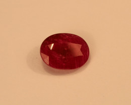 **No Reserve** 4ct Oval-Cut Ruby