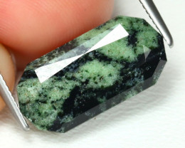 Ruby Zoisite 6.76Ct Octagon Cut Natural Unheated Ruby Zoisite B1903